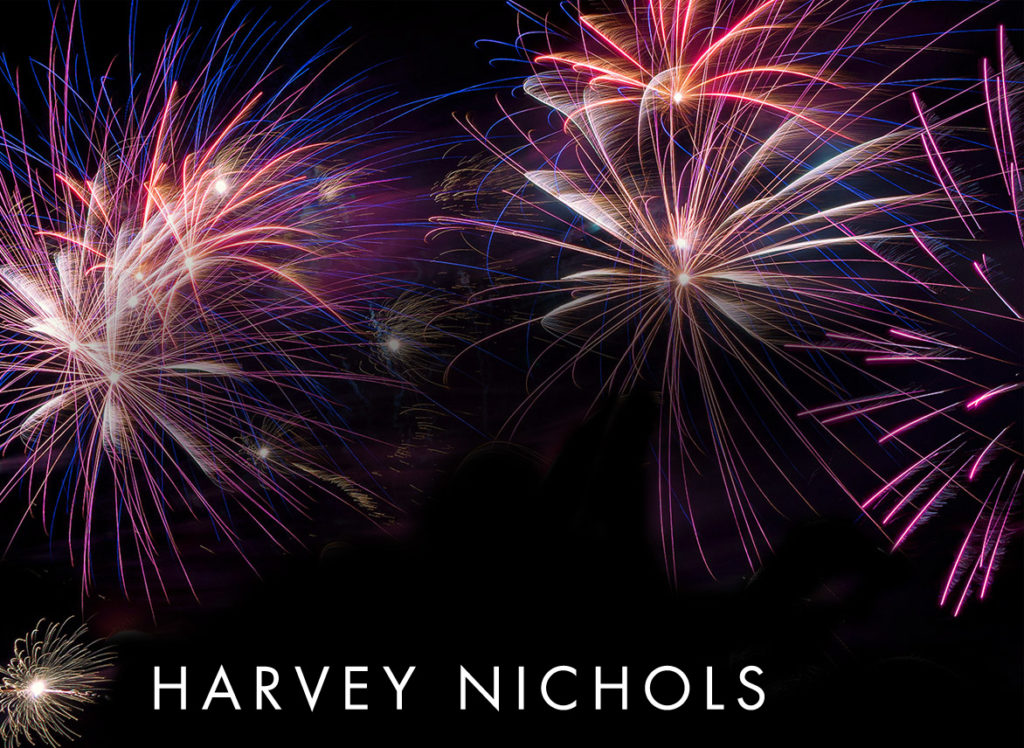 ring in the new year in style at harvey nichols dine on courses including hot and cold smoked scottish salmon scottish borders beef fillet and cranachan